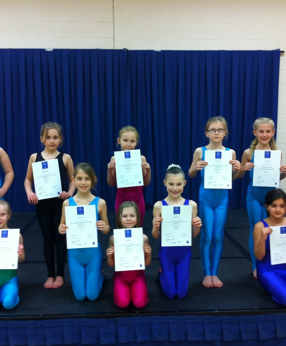 Exam Results in ISTD Ballet and Modern, 2013